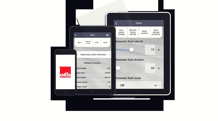Oras App mobile enheder